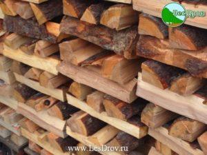 фото дров ольховых в поленнице
